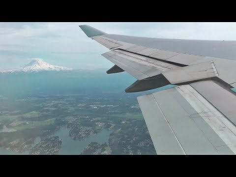 British Airways Boeing 747 Onboard Landing at Seattle-Tacoma International Airport