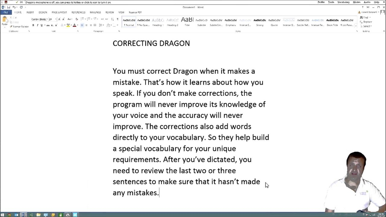 Train Your Dragon Software And Make Corrections Youtube