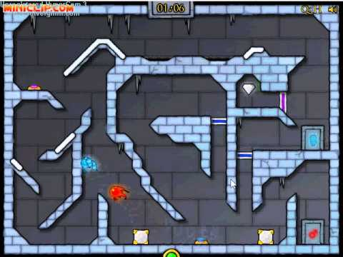 Miniclip Ice Temple Fireboy Amp Watergirl Level 18 Guide