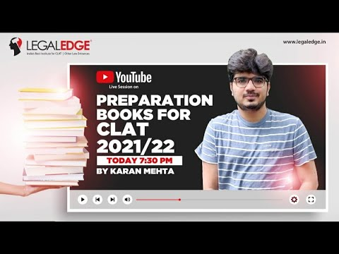 Best Books for CLAT | CLAT 2021-22 | LegalEdge