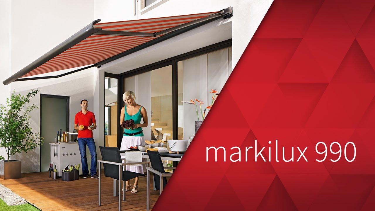 Markilux 990 Kassetten Markise Youtube