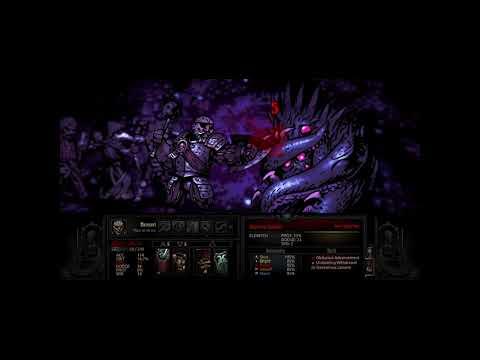 Darkest Dungeon - Killing a Lv. 5 Shambler using a Leper (Bloodmoon difficulty)