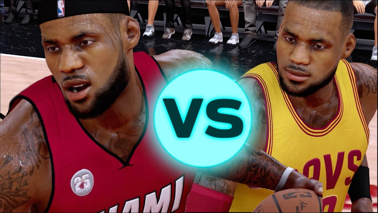 Miami heat lebron jamess vs golden state warriors nba2k17 miami - What If Miami Heat Lebron James Played Against His Current Version Nba 2k17 Challenge Youtube