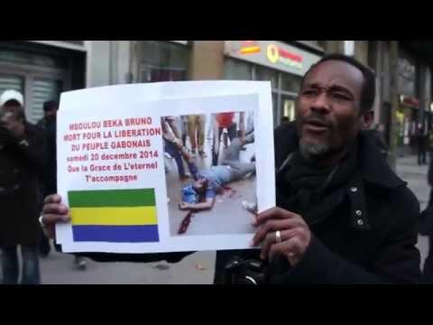 La marche de l'unité Africaine à Paris du 27 décembre 2014