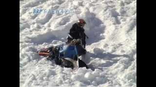 неудачные трюки на снегоходах(не удачные трюки на снегоходах из видео Slednecks и Ruff Riders., 2013-02-24T14:35:08.000Z)