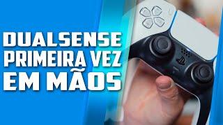 DUALSENSE, o controle do PLAYSTATION 5 revelado EM MÃOS pela PRIMEIRA VEZ, várias novidades