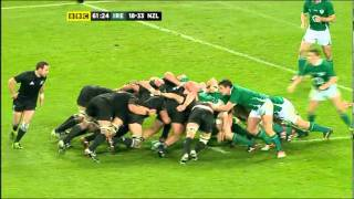Ireland v New Zealand Scrums