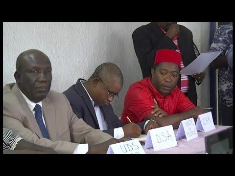 Togo, RASSEMBLEMENT DE L'OPPOSITION CE MARDI