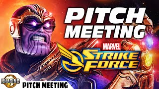 Pitch Meeting - MARVEL Strike Force - MSF