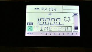 WWV Time Signal - leap second date announced