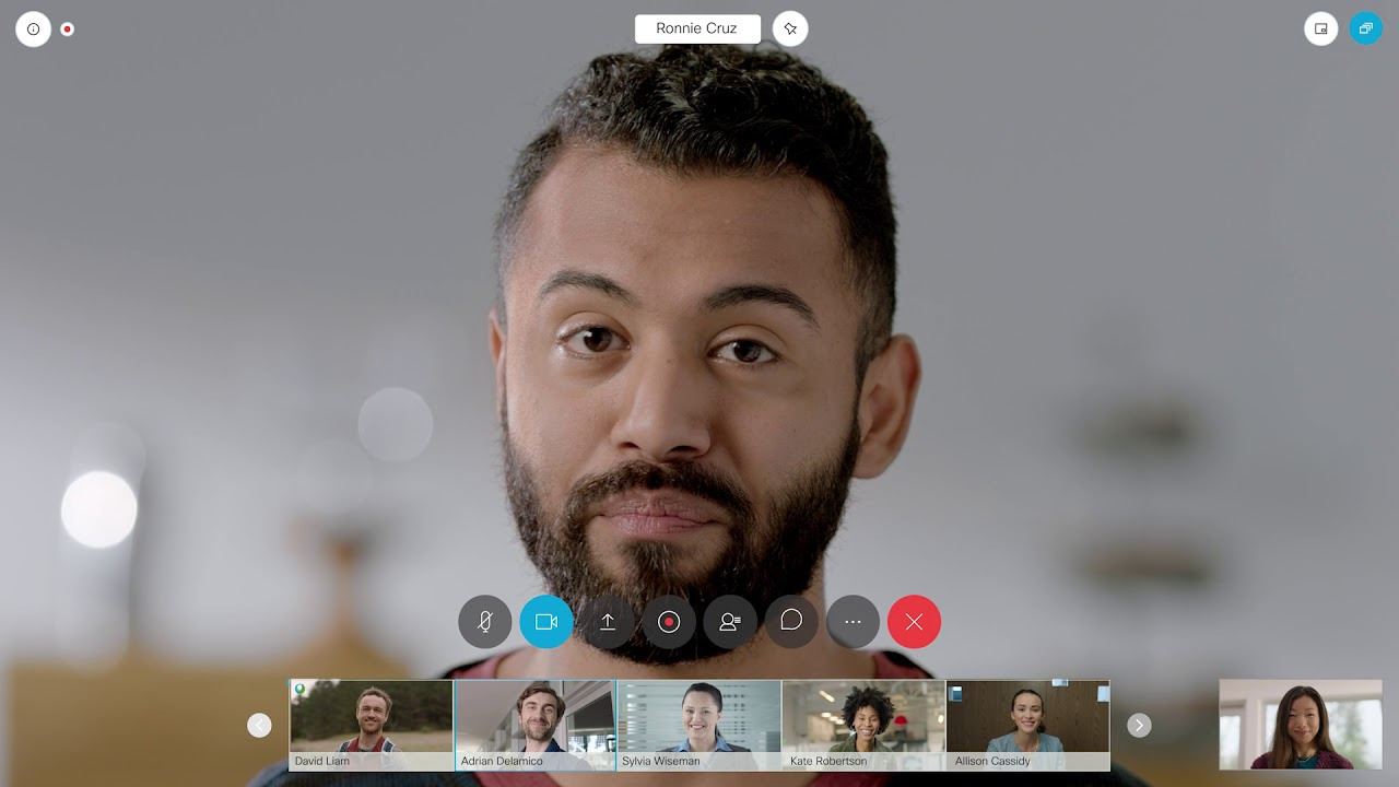 Experience The New Cisco Webex Meetings Youtube