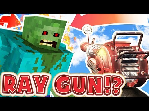 NEW OVERPOWERED WEAPONS MINECRAFT MEETS CALL OF DUTY ZOMBIES - BRAND NEW HYPIXEL MINIGAME