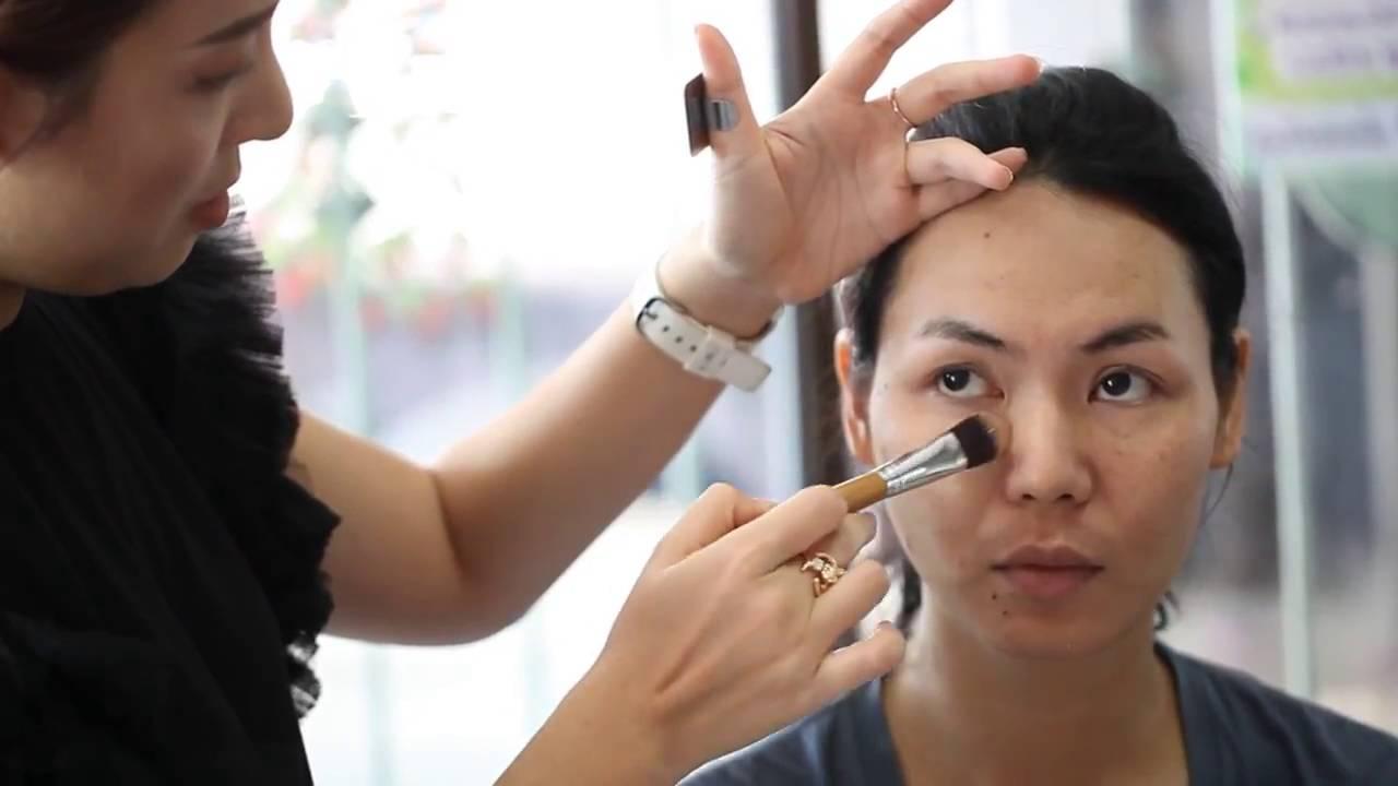 makeup artist center thailand out door hd make up class