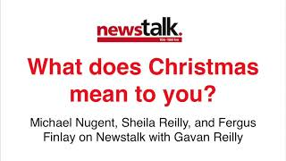 What does Christmas mean to you? Michael Nugent on Newstalk panel