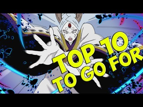 TOP 10 UNITS TO GO FOR ON NARUTO BLAZING (In my opinion)