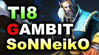 SoNNeikO Stack 20 Afk MIN vs GAMBIT - TI8 CIS Main Quals DOTA 2 thumbnail
