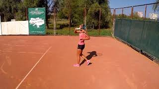 Oksana Piddubna - College Tennis Recruiting Video - Fall 2019