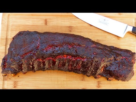 How To Smoke Ribs In A Weber Kettle | TruBBQtv