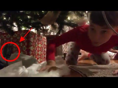 Otis - Kids Gets Big Surprise When He Sets Up Camera To Catch Santa