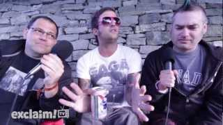 Bill Stevenson, Brendan Kelly and Fat Mike on Exclaim! Conversations