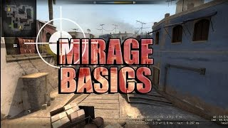 CS GO - Basic Beginners Tutorial E03 Mirage Positions And Lurking