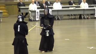 Kendo 8 dan Tournament 21   Ishida vs Koyama - Tomohito Shino Cup 2016