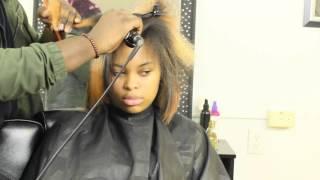 How To Silk Press Natural Hair