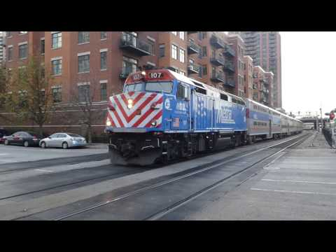 シカゴ通勤鉄道メトラMD線 Chicago metropolitan area commuter railroad