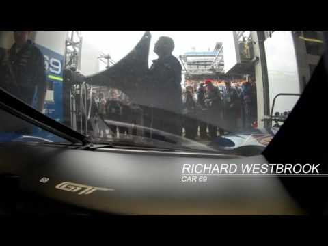 2016 Le Mans 24 Hours - Ford #69 Onboard (13:56-19:57)