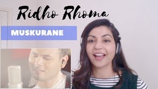 vuclip Ridho Rhoma- Muskurane (Arijit Singh Cover) -- Reaction Video!