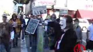 AnonymousTV - Los Angeles FEB 10th Scientology Protest