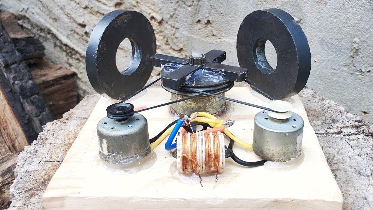 Free energy power generator easy