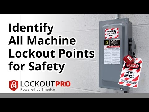 Identify All Machine Lockout Points for a Safe Workplace | Lockout Pro Video