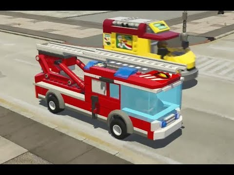 LEGO City Undercover (Nintendo Switch) - Fire Ladder Truck Driving