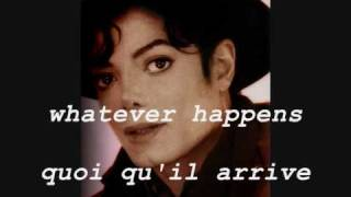 Michael Jackson - Whatever Happens (2001) (subtitles lyrics English - sous-titres paroles Français)