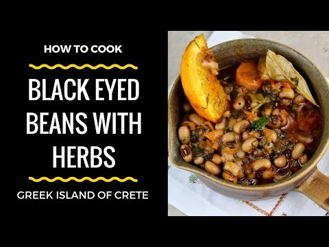 Black Eyed Beans with Herbs (Greece)