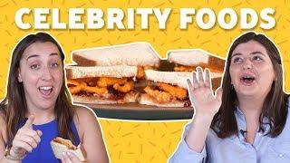 Weird Celebrity Foods | TASTE TEST