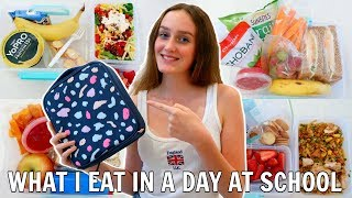 WHAT I EAT IN A DAY AT SCHOOL! - 1 Week of What's In My Lunchbox