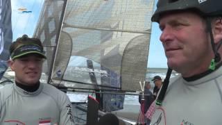 Lol en fanatiek zeilen gaan hand in hand tijdens Ronde om Texel