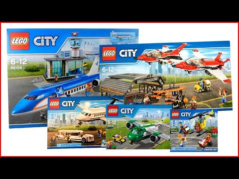COMPILATION ALL LEGO City Airport 2016 - Speed Build