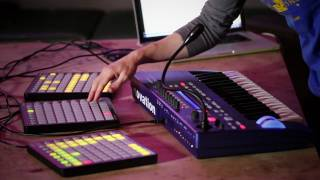 Novation // Live beats with UltraNova and Launchpad - Part 1