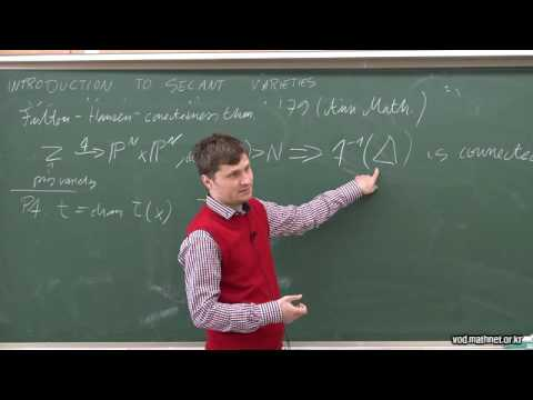 Introduction to secant varieties / Mateusz Michalek (Polish Academy of Sciences)  / 2016-05-18
