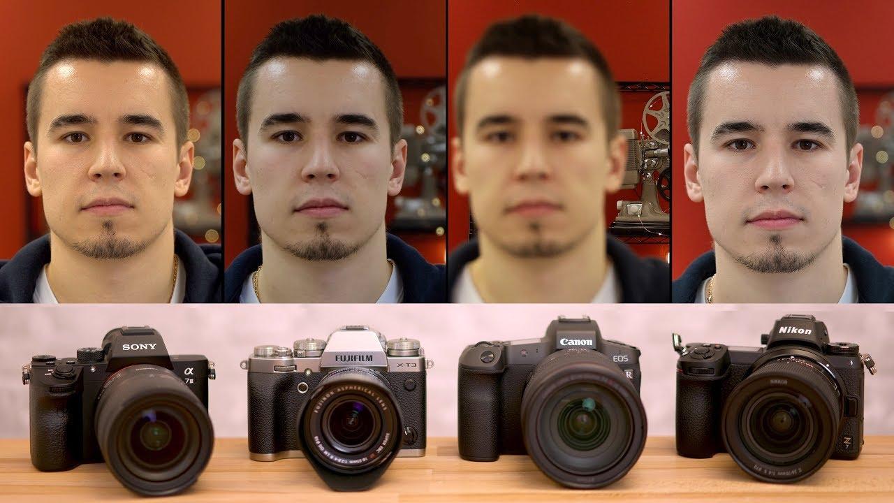 EOS R vs A7III vs X-T3 vs Z7 - Video Autofocus Comparison