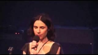 PJ Harvey & John Parish Black Hearted Love Live in Paris Bataclan 2nd Night 18.05.2009 HQ