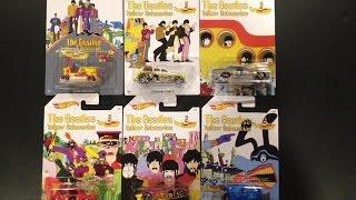 Скачать Hot Wheels Beatles Yellow Subarine Series US Walmart