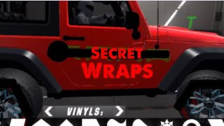 How to unlock a secrete wrap(No Hacks) in Car Parking Multiplayer