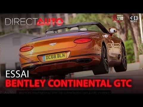 ESSAI : BENTLEY CONTINENTAL GTC