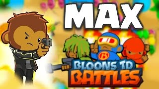 Bloons TD Battles | MAX LEVEL COBRA! OMG EPIC TROOP! | BTD Battles Maxed Out Gameplay