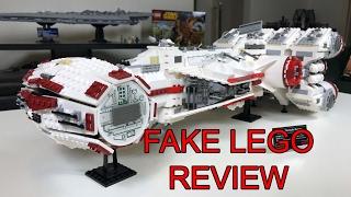 LEPIN Rebel Blockade Runner UCS (Tantive IV) Review