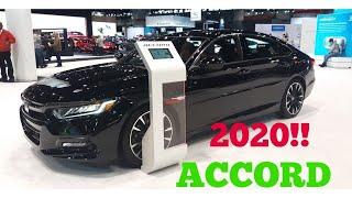 2020 Honda Accord 2.0T Sport - 2019 Chicago Auto Show